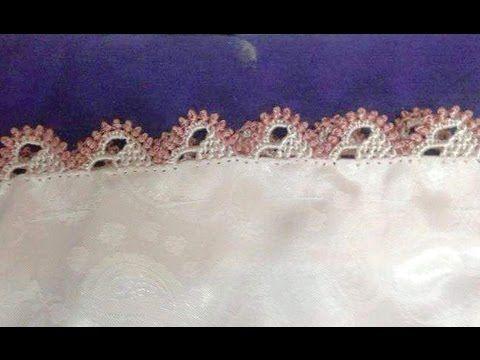 تعليم خياطة الراندة مع ضريس خفيف جميل وسهل  - اللهم بلغنا رمضان  - randa - YouTube