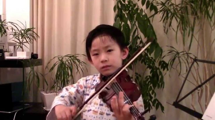 O Come, Little Children (Suzuki Violin 1-5); 鈴木メソード バイオリン教本一巻の5曲目「クリスマスの歌」—See more of this young violinist #from_HaruyasViolin