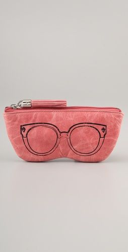 The cutest eyeglasses/sunglasses case ever. From Rebecca Minkoff.