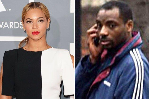 Beyoncé. - La cantante tuvo un acosador llamado Bassey, quien estaba completamente convencido que Beyoncé era una impostora que le había robado la vida a la verdadera Beyoncé, por lo que le enviaba amenazas. La cantante ganó en la corte una orden de restricción.