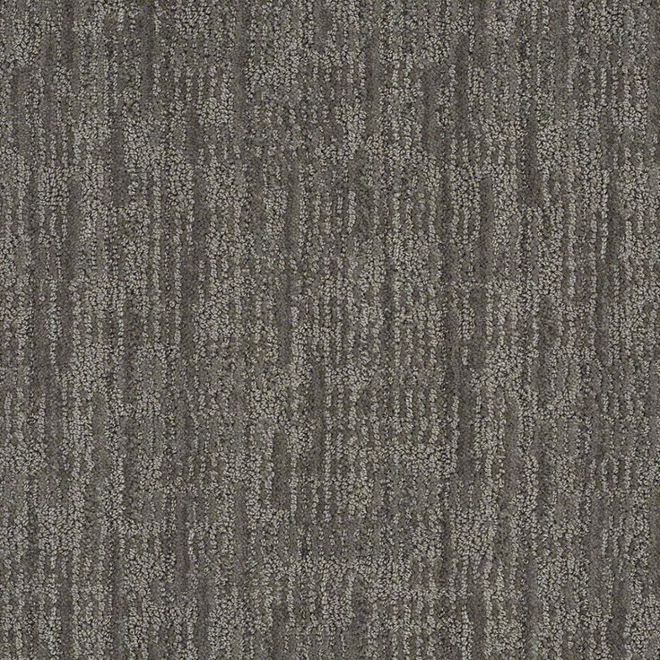 Shop STAINMASTER Active Family Unmistakable 7L62900556 Power Gray Cut And  Loop Indoor Carpet At Lowes.