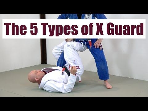 The 5 Types of X Guard - YouTube