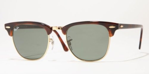 Ray-Ban CLUBMASTER Sunglasses RB3016 W0366 Mock with lens Size 49 mm and bridge size 21 mm. . These Ray-Ban Sunglasses are of the highest quality build and are 100% authentic! Package Includes: Certificate of Authenticity, Original Case, Cleaning Cloth and other original factory items...