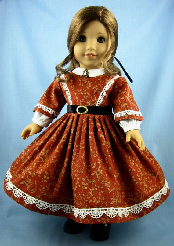 1860s Civil War Era Dress  American Girl  by SewMyGoodnessShop, $36.00