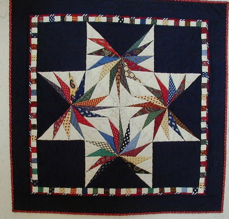 Custom Necktie Quilt Wallhanging Made from your by QuirkyQuilts. $225.00 USD, via Etsy.: