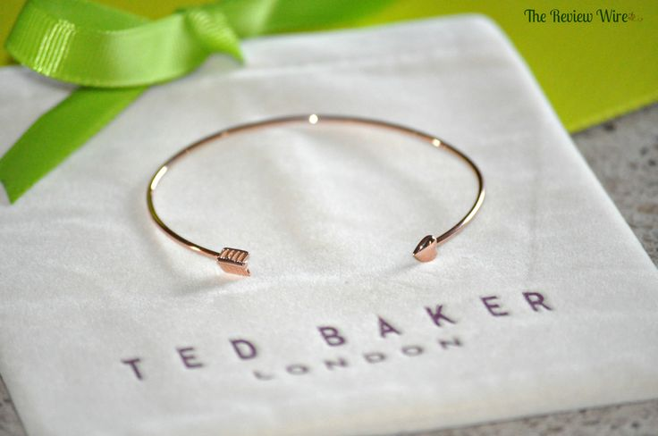 The Review Wire: Amara Luxury Gifts Review: Ted Baker Arrow Bracelet   #jewelry #home #design #style #women