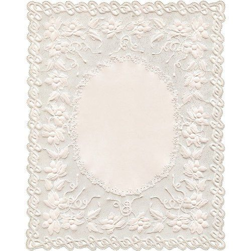 Kaisercraft - Miss Betty Collection - Die Cut Paper - Embroidered Doily