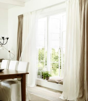 Ikea curtains linen curtains and curtains on pinterest for Linen curtains ikea