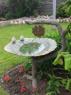 Beton blad fugle bad :)