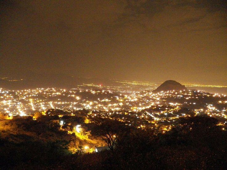 Cuernavaca Morelos de noche
