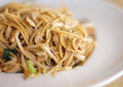 Healthy Chicken Lo Mein - easy recipe