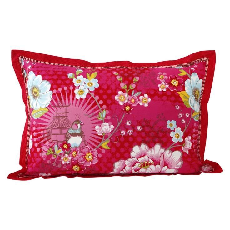 Pip Studio - Chinoise Pillowcase - Pink - 50x70cm
