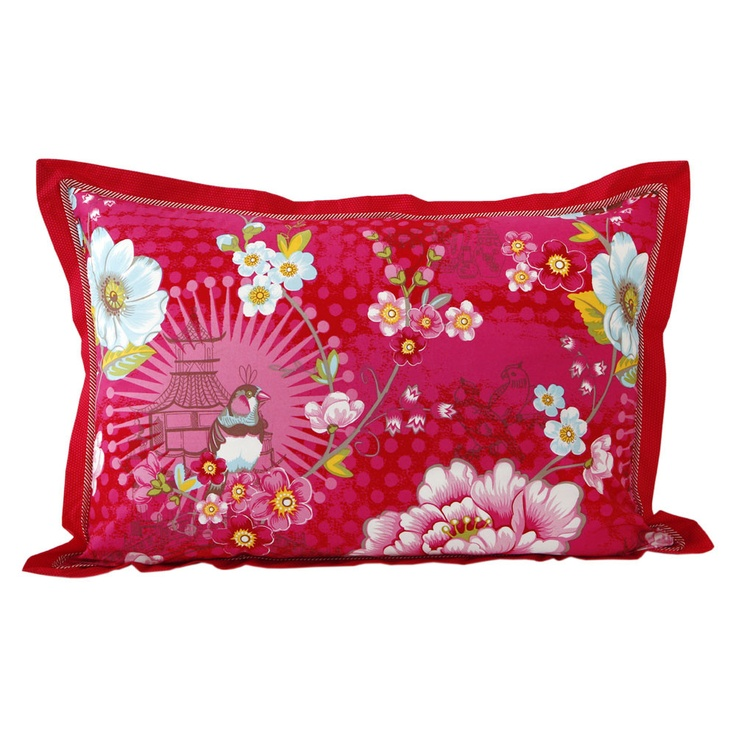 Pip Studio - Chinoise Pillowcase - Pink - 50x70cm