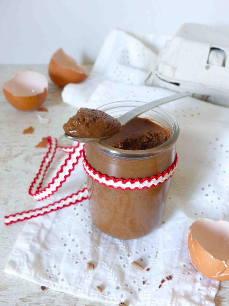 Un dessert sans gluten, la mousse au chocolat zéro complexe
