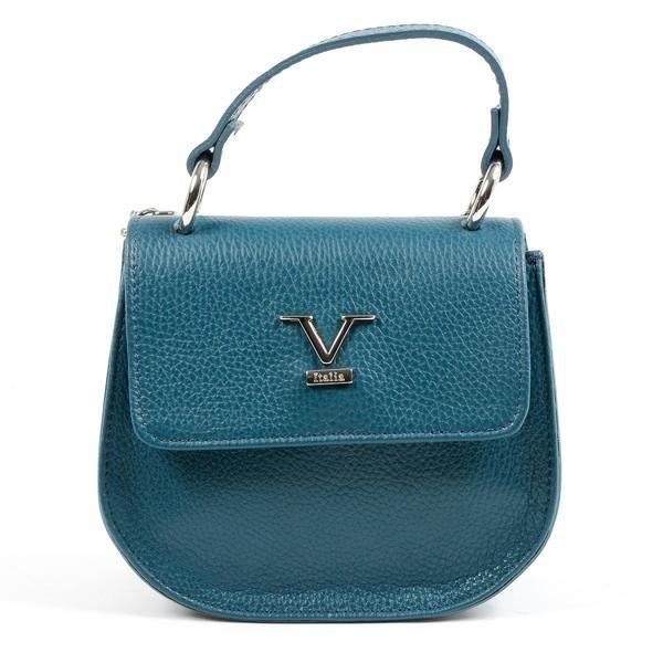 253bedb08931 V 1969 Italia Womens Handbag Blue DUBLINO