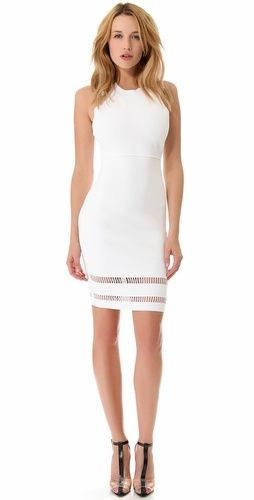 this is totally my kinda dress // alexander wang fitted tank dress