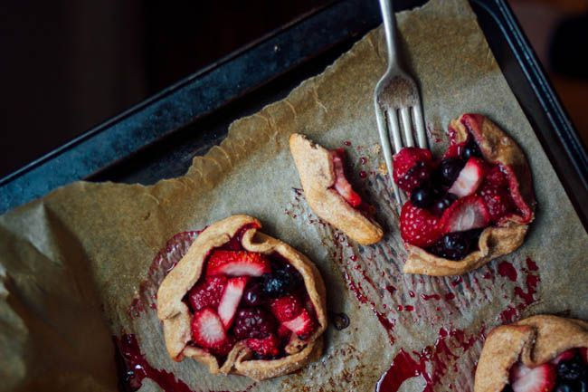Berry Galettes | Wholehearted Eats