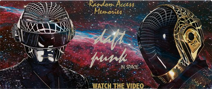 Daft Punk, Random Access Memories Album Cover