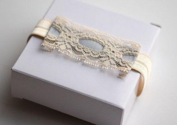 Bridal Garter Vintage Lace Blue Wedding Garter by LuciaStofej