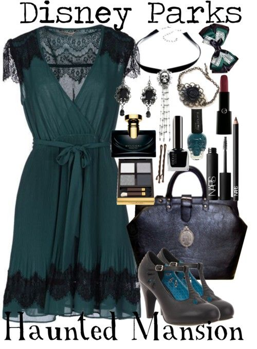 Holy balls. A Haunted Mansion inspired outfit?!?!?! I NEED IT!!!!! ∞