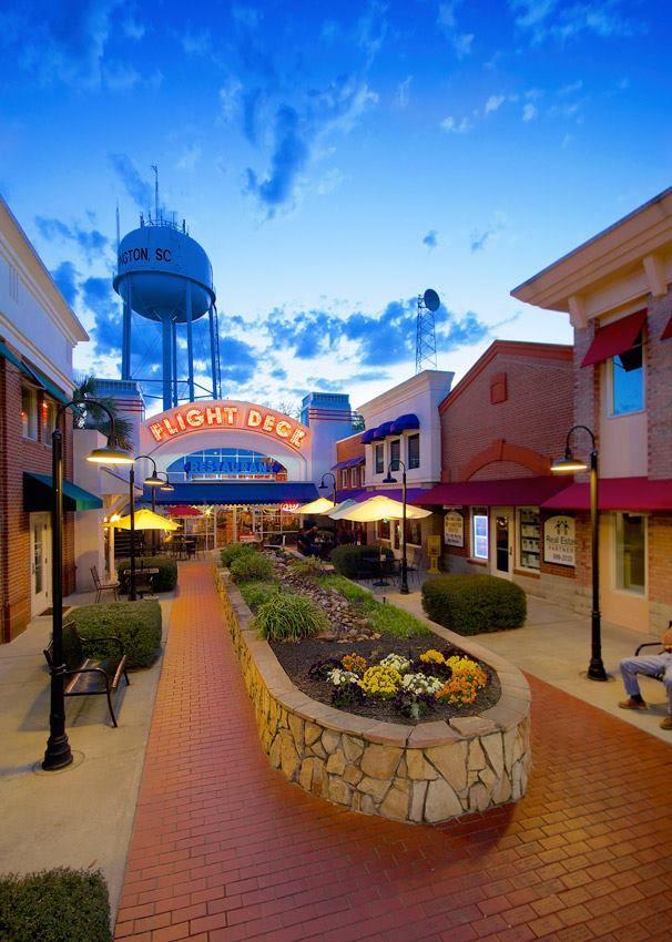 Themed South Carolina Restaurants 5. Flight Deck Restaurant - 109A Old Chapin Rd, Lexington, SC