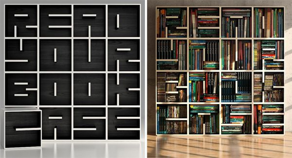 """Nice bookcase  """"read your book case"""" :D"""