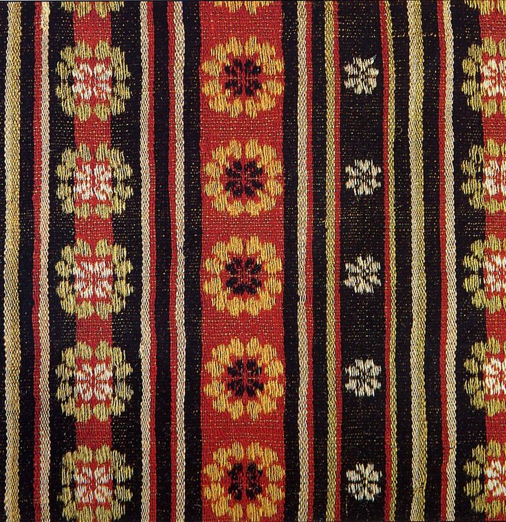 FolkCostume&Embroidery: Zemgale or Semigallian Costume, Latvia