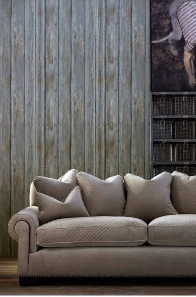 This Hyper Realistic Wallpaper Features Timber Driftwood Planks. Wallpaper  By Andrew Martin. Design Ideas