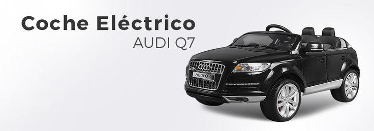 Coche Eléctrico Audi Q7. Coche Infantil