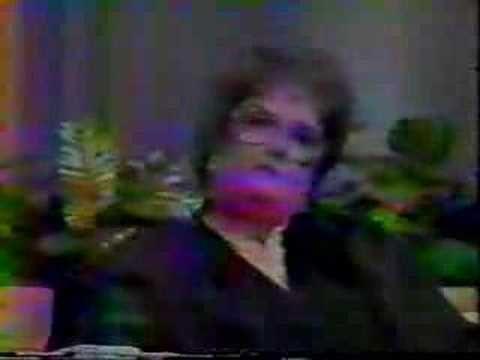 Doris Tate on 'Peaople Are Talking' 1984 Part 1