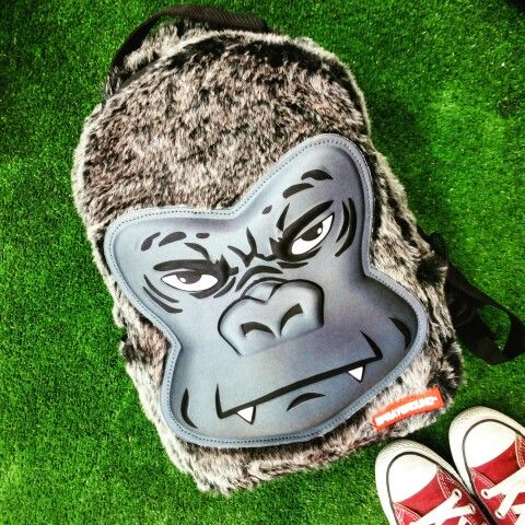 #Spraygroynd mini #backpack ! #gorilla