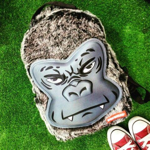 #Spraygroynd mini #backpack ! #gorilla