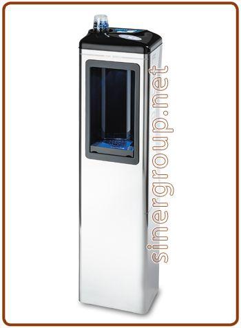 Futura refrigeratore a colonna 2, 3 vie acqua fredda + ambiente + frizzante fredda 6~19lt./h.