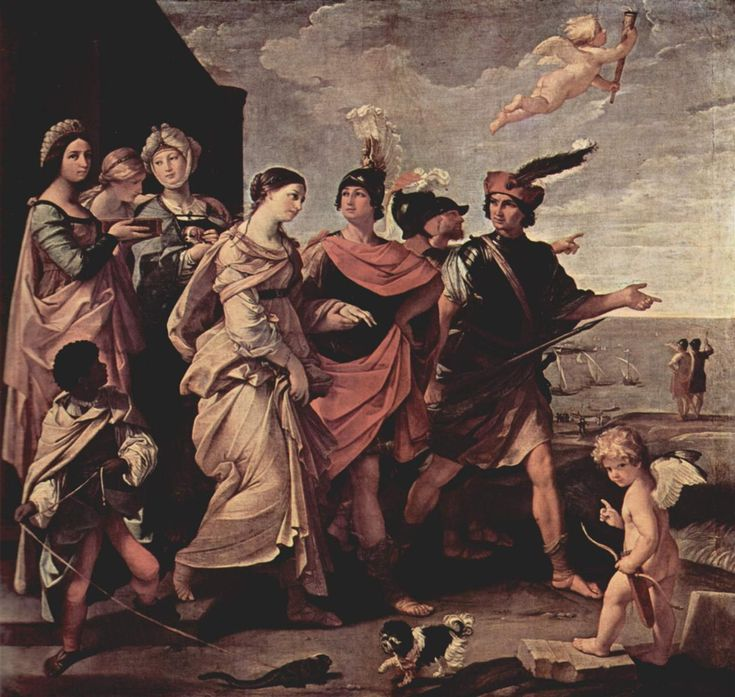 The Rape of Helen - Guido Reni - WikiArt.org: