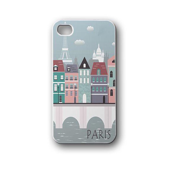 Paris city - iPhone 4,4S,5,5S,5C, Case - Samsung Galaxy S3,S4,NOTE,Mini, Cover, Accessories,Gift