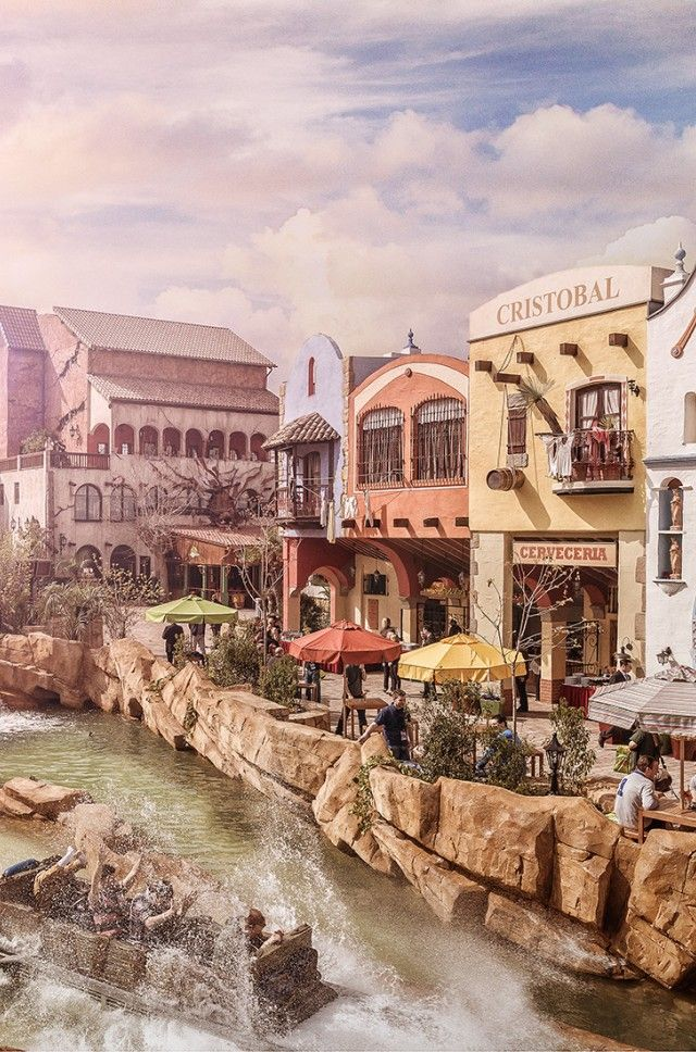 chiapas die wasserbahn in mexico phantasialand theme parks pinterest mexico and parks. Black Bedroom Furniture Sets. Home Design Ideas