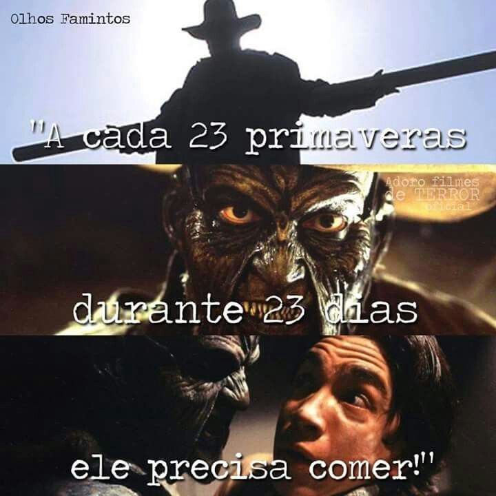 Jeepers Creepers- olhos famintos