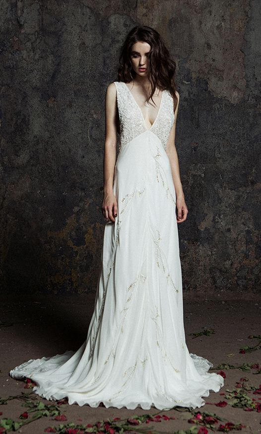 Featured Dress: Bo and Luca; Wedding dress idea.