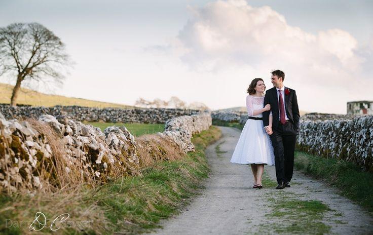 Evening light, Hartington Hall Wedding, Peak District wedding.