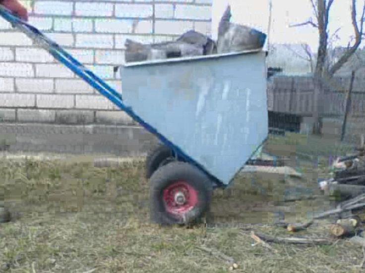 Универсальная тележка-самосвал Universal truck dumper