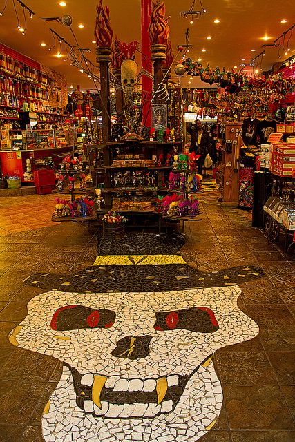 Voodoo Mart | Canal Street, New Orleans, LA - I want this on my floor in my house