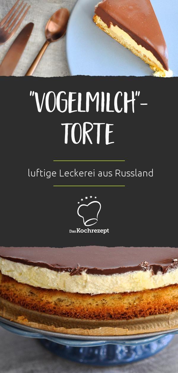 Vogelmilch Torte Rezept Torten Baking Recipes Cake Und Baking