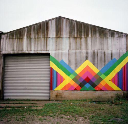 coolBarns Art, Barns Piece, Mayahayuk, Colors, Quilt Barns, Street Art, Maya Hayuk, Hayuk Barns, Streetart