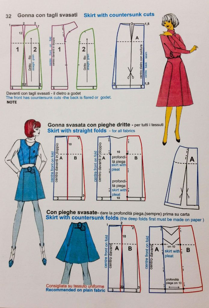 Le Grand chic pattern making book 1