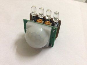 Picture of How to Make a Simple Motion Sensor Led Light (Revisited) (PIR)