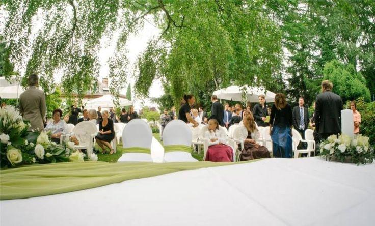 Villa Scheid in Limburg an der Lahn, Hessen Trauung und Feier im Freien