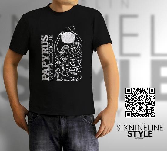 Papyrus Mythologique T-Shirt http://www.spreadshirt.de/papyrus-mythologique-white-C4408A19077691