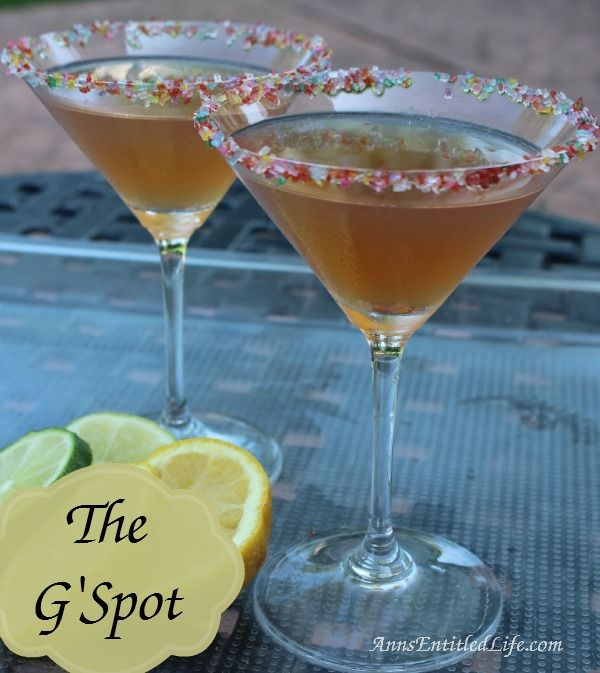 The G'Spot Cocktail Recipe; The G'Spot: a sweet tart cocktail make with Chambord and G'Vine Floraison Gin.   http://www.annsentitledlife.com/wine-and-liquor/the-gspot-cocktail-recipe/