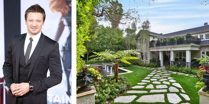 See Inside The Hollywood Home Jeremy Renner Is Selling - ELLEDecor.com