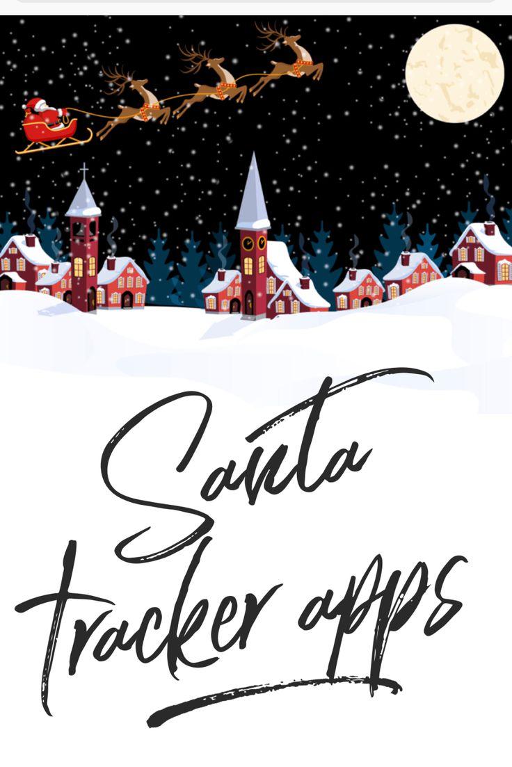 Santa Tracker Apps for Kids Christmas Traditions - Christmas apps for kids #christmas #santa #apps #kids